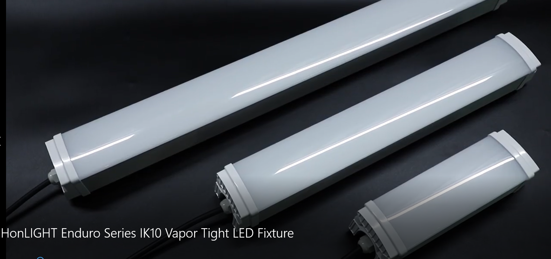 HonLIGHT Enduro Series IK10 Vapor Tight LED Fixture