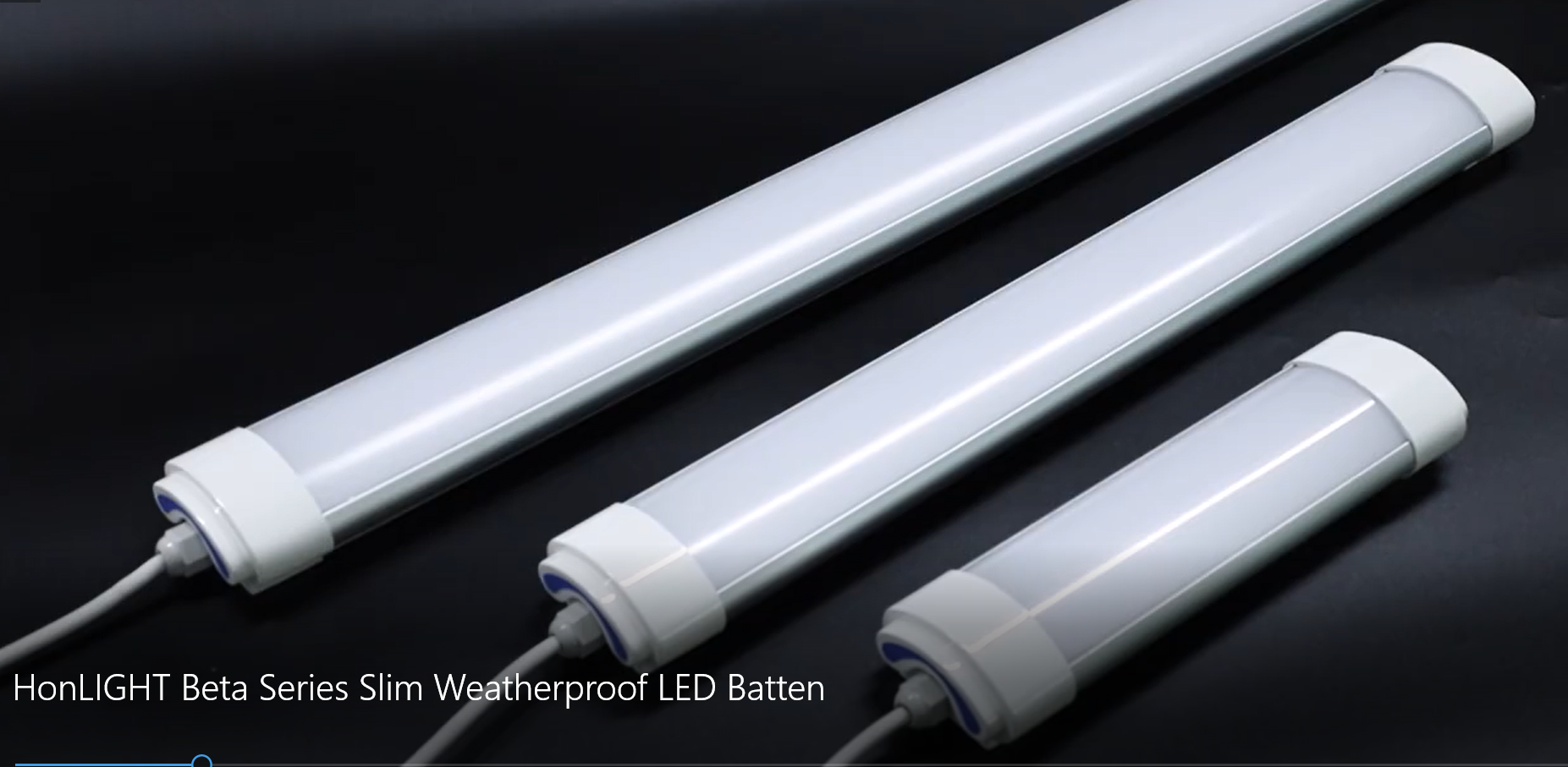 HonLIGHT Beta Series Slim Weatherproof LED Batten